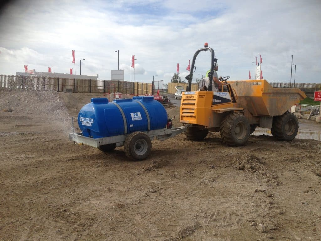 Sweeper, Dust Suppression & Vacuum Tank Hire - PG Sweepers Ltd
